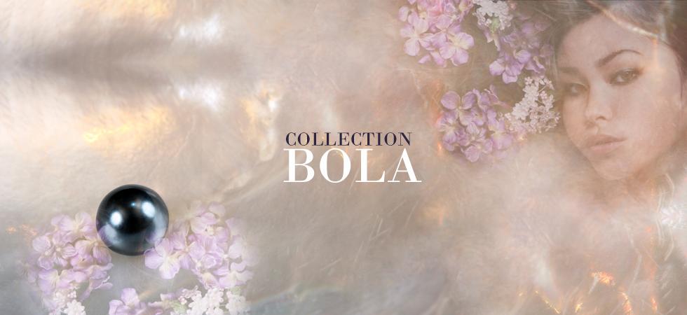 Collection BOLA, bijoux Argent & perles fabriqué en France artisanalement.