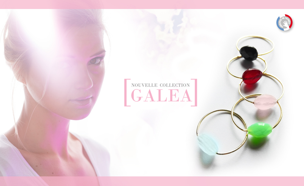Collection GALEA, bracelets fins en Or et pierres naturelles fabriqués en France artisanalement.
