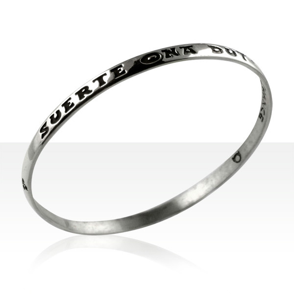 bracelet jonc basque bracelet argent je porte chance bijoux basques madilar. Black Bedroom Furniture Sets. Home Design Ideas