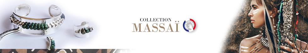 Collection de bijoux MASSAÏ, MADILAR, créateur de bijoux français