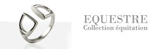 Collection EQUESTRE : bijoux sur le thème du cheval fabriqué en France
