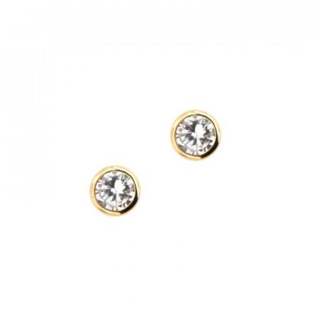 Boucles d'oreilles Or 375 °°° CLOS OZ 3mm