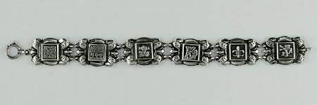 Bracelet Argent LYS 7 PROVINCES PM