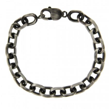 Bracelet Argent ANTIKA FORCAT GM  L: 21,5cm - l: 7mm