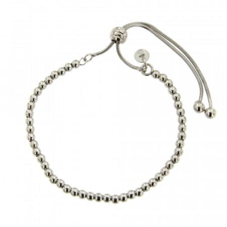Bracelet Argent BOUDHA boules