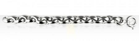 Bracelet Argent ENTR ROND GM