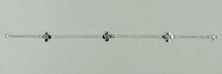 Bracelet Argent ROL 35/3 CB PLATE 3