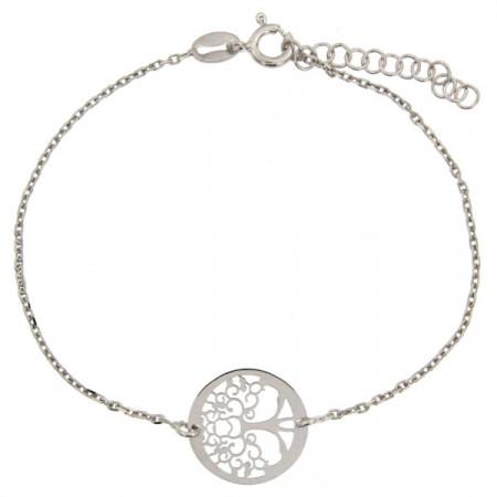 Bracelet Argent Arbre de vie PM -  RHODIE