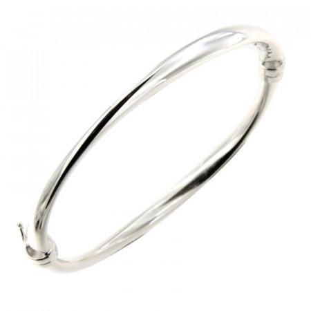 Bracelet Argent JONC ondulé