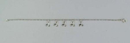 Bracelet Argent BOULE PP 5 TRISKELLS