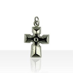 Croix Argent CELTIQUE MASSIVE