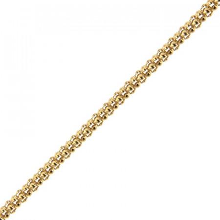 Bracelet Plaqué Or COREENNE 19cm