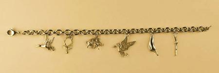 Bracelet Plaqué Or FORCAT RONDE 6 BREL CHASSE