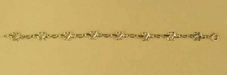 Bracelet Plaqué Or TRISKELL DOUBLE PM