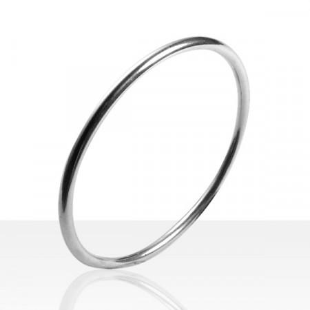 Bracelet JONC Argent massif FR35-063