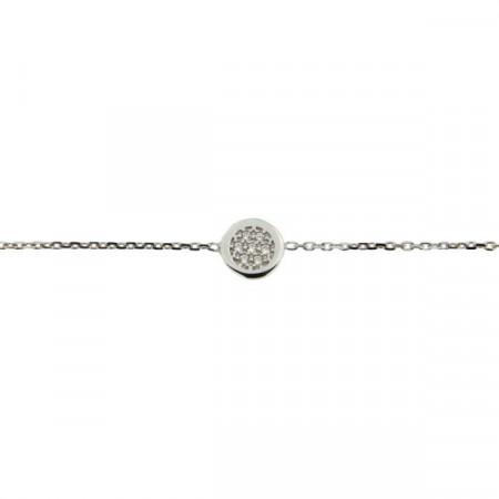 Bracelet Argent KOTA ROND Mini -  OZ