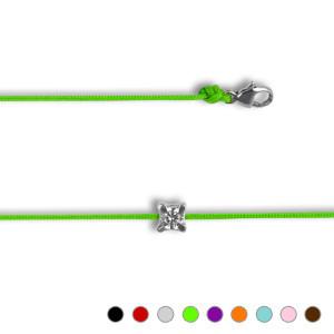 Bracelet Argent NILA OOZ 4 griffes