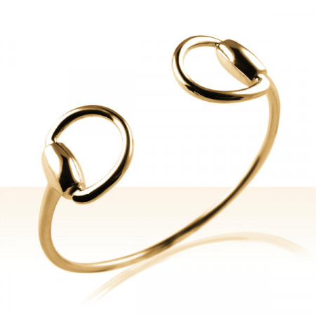 Bracelet Plaqué Or JONC MORS
