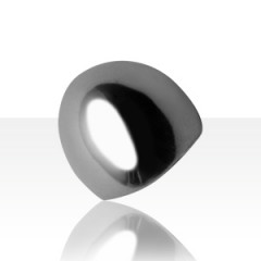 Bague Argent BOMBEE GM CONE