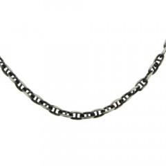 Collier Argent ANTIKA MARINE PER48 - L: 50cm - l: 5mm