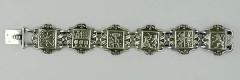 Bracelet Argent 7 PROVINCES LYS
