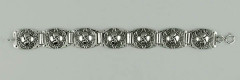 Bracelet Argent Croix BASQUE/TONNEAU