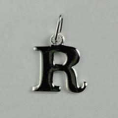 """Pendentif Argent """"R"""""""