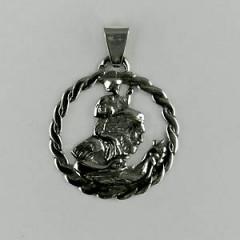 Médaille Argent ST CHRISTOPHE