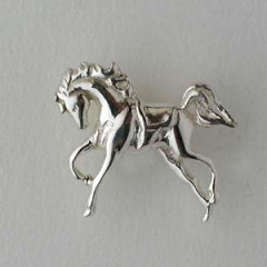 Pin's Argent CHEVAL REVERENCE