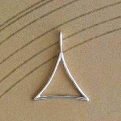Triangle Argent FIL INCURVE PM Z38