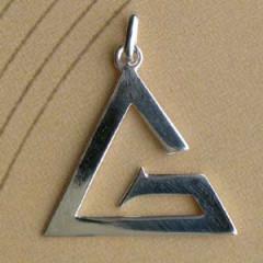 G Argent EN Triangle MM Z28
