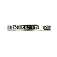 Bracelet Argent RIGIDE OISEAUX/BRO GARET