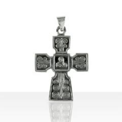 Croix Argent TRISKELL