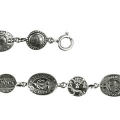 Bracelet Argent OVALE RONDS