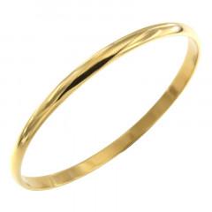 Bracelet Plaqué Or 1/2 Jonc 5