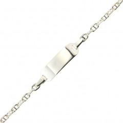 Bracelet Argent ENFANT Marine Per L: 14 + 2cm