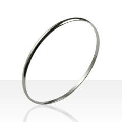 Bracelet 1/2 JONC Argent massif 3-063