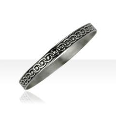 Bracelet Argent JONC CORDON D63