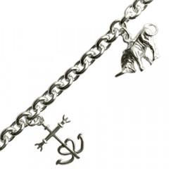 Bracelet Argent 3 BREL CAMARGUE GM
