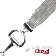 Bracelet Argent MULTI QDR25/MORS DOUBLE NM