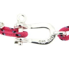 Bracelet Argent Manille CAP COZ - rose