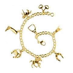 Bracelet Plaqué Or FORCAT RONDE MM 8 BREL