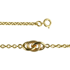 Bracelet Plaqué Or ESCLAVE GM