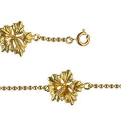 Bracelet Plaqué Or 3 HIB GM CH BOULE